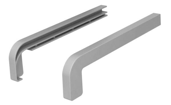 zaslepki zewnętrzne PVC proste