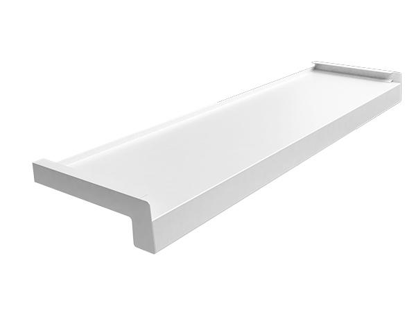 parapety zewnętrzne aluminiowe Biały RAL 9016
